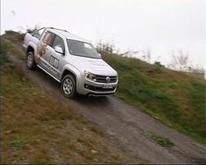 Fahrsicherheitstraining und der neue VW Amarok
