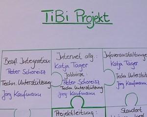 TIBI - vier Buchstaben ein Projekt - JUL - drei Buchstaben und ein starker Partner