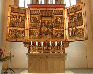 Altarweihe in der Reglerkirche zu Erfurt