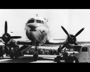 Der deutsche Luftverkehr begann in Erfurt