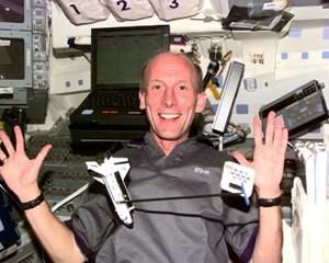 Astronaut Thiele - einmal Weltall und zurück