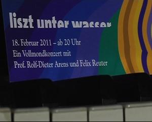 Liszt unter Wasser in Bad Sulza