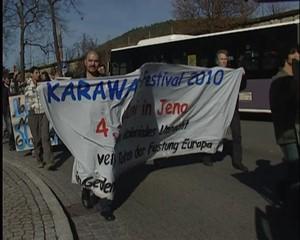Südthüringer Regionalfernsehen: Demonstration