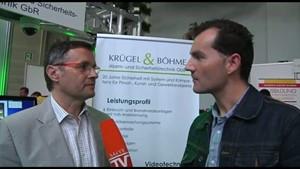 Kreismesse Apolda - Talk mit Krügel und Böhme