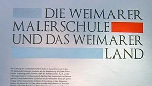 Die Weimarer Malerschule und das Weimarer Land