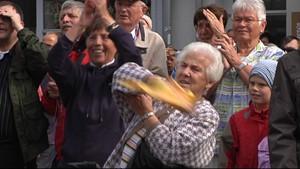Erste Eindrücke vom Papstbesuch in Erfurt 2011