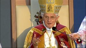 Papstbesuch 2011 in Erfurt