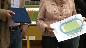 Jena.TV: Kritik geäußert: Jenaer Leichtathleten sind mit Plänen zum Stadionumbau nicht zufrieden