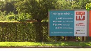 Auftakt der Werbekampagne Thüringen wirbt...