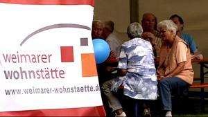 Mieterfeste der Weimarer Wohnstätte
