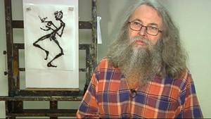 Der Erfurter Maler und Grafiker Frank Naumann