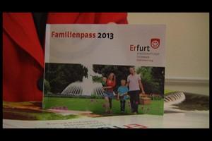 Erfurter Familienpass 2013 erhältlich