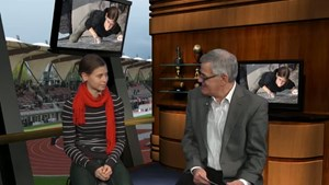 Sporttalk - Alma Bestvater - Thüringer Landesmeisterin im Sportklettern