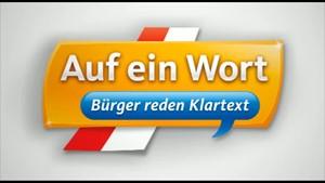 Auf ein Wort - Bürger reden Klartext aus Bad Liebenstein