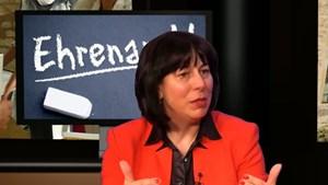 Interview zum Ehrenamtspreis im Augustinerkloster