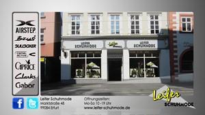 Werbespot Leifer Schuhmode Erfurt