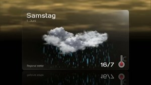 Werbung Präsentation Wetterkarte - Thüringer Edelmetallkasse