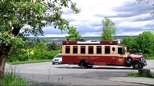 Der Belvedere Express in Weimar
