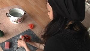 Die Textilkünstlerin aus Apolda