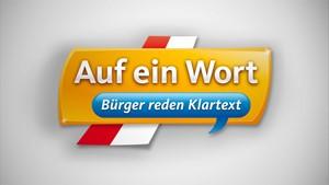 Auf ein Wort - Bürger reden Klartext aus Weimar
