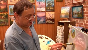 Der Hobbymaler Karl Heinz Bertram