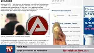 Nachrichten.Neu. vom 02.10.2013 mit Flitz und Pipe