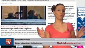 Nachrichten.Neu. vom 15.10.2013 mit Franziska Domann