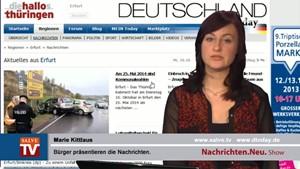 Nachrichten.Neu. vom 16.10.2013 mit Marie Kittlaus