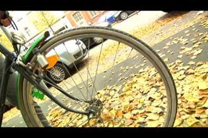 Critical Mass - Fahrraddemo in Erfurt