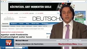 Nachrichten.Neu. vom 08.11.2013 mit Michael Menzel