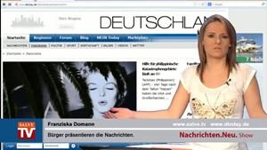 Nachrichten.Neu. vom 12.11.2013 mit Franziska Domann