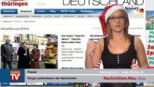 Nachrichten.Neu. vom 03.12.2013 mit Franzi