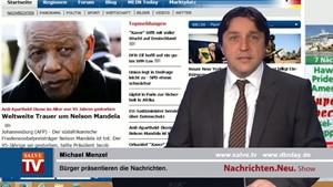 Nachrichten.Neu. vom 06.12.2013 mit Michael Menzel