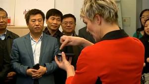 China: Chinesische Delegation bei Salve TV zu Gast