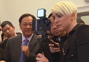 Hochrangige Medienvertreter aus China zu Gast bei salve.tv