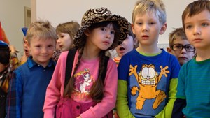 Einweihung der Kinderkrippe Sackpfeife