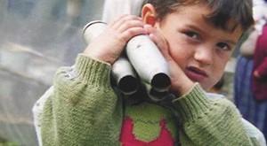 Kinder im Kosovokrieg