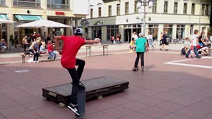 Skate-Night in Weimar