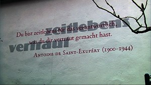 Words on the Wall in Weimar