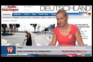 Nachrichten.Neu. vom 22.01.2014 mit Franzi