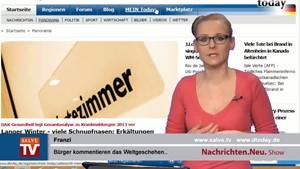 Nachrichten.Neu. vom 24.01.2014 mit Franzi