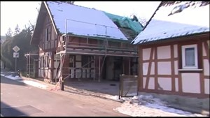 Thüringen TV - SRF - Hausabriss Empfertshausen