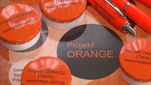Das Projekt Orange in Erfurt