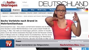 Nachrichten.Neu. vom 11.03.2014 mit Franzi
