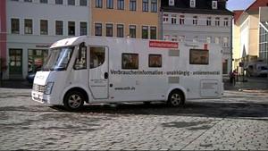 Informationsmobil der Verbraucherberatung in Apolda