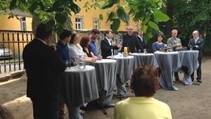 Podiumsdiskussion Kita Am Goethepark