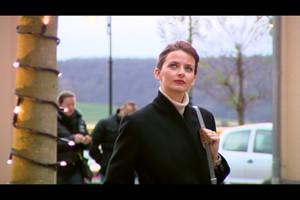 Deutschland Lokal Dezember Weihnachtseinkauf mit Eva Padberg