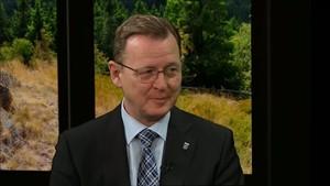 Thüringens Politiker: Ministerpräsident Bodo Ramelow (Talk mit Judith Noll)