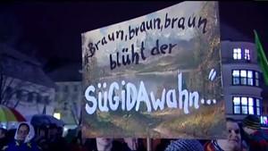 Thüringen TV - SRF - SÜGIDA-Demo in Suhl