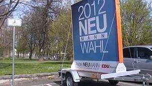 Thüringen TV - Altenburg TV - Keine Werbepanels auf Anhängern
